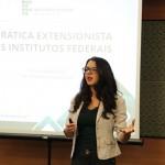 A docente do IFRS, Josiane Krebs, acredita que há grande espaço nos Institutos Federais para a extensão - Foto: Ascom/IFMS