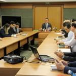 Reuniões de trabalho foram realizadas entre equipe do IFMS e consulado - Foto: Ascom/IFMS
