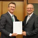 Acordo foi assinado simbolicamente, já que está em vigor desde abril - Foto: Ascom/IFMS